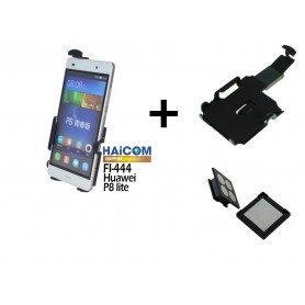 Haicom - Haicom magnetic phone holder for HUAWEI P8 LITE HI-444 - Car magnetic phone holder - ON4611-SET www.NedRo.us