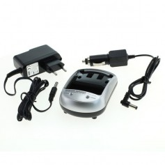 AC and Car charger set for all types of loading plates EU-Plug