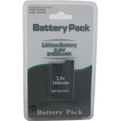 Battery for PSP Slim&Lite PSP2000-PSP3000 2400mAh