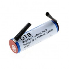 NedRo, OTB battery compatible to Braun Oral B Sonic complete / Rowenta Dentasonic NiMH, Electronics batteries, ON4626
