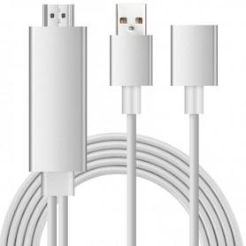 NedRo - MHL to HDMI Samsung S6 S6 Edge Note 5 Huawei P8 P9 - Samsung data cables  - AL574-CB www.NedRo.us