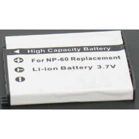 unbranded, Battery compatible with Casio NP-60, Casio photo-video batteries, GX-V189
