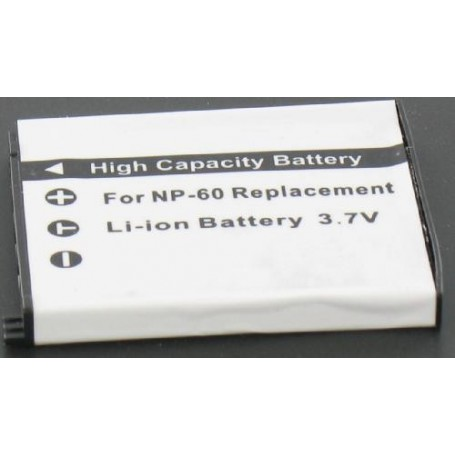 NedRo, Battery compatible with Casio NP-60, Casio photo-video batteries, V189, EtronixCenter.com