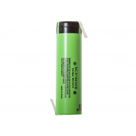 Panasonic, Panasonic 3350mAh NCR18650B 3.7V 6.7A battery, Size 18650, NK090-CB, EtronixCenter.com