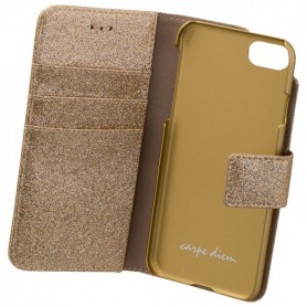 CARPE DIEM, CARPE DIEM Book Case for iPhone 7 / iPhone 8, iPhone phone cases, ON4708, EtronixCenter.com