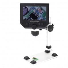 1-600X 3.6MP 4.3 inch HD OLED LCD Digital Microscope