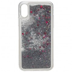 Peter Jäckel - Urban style back cover GLAMOR for Apple IPHONE X - Silver - iPhone phone cases - ON4776