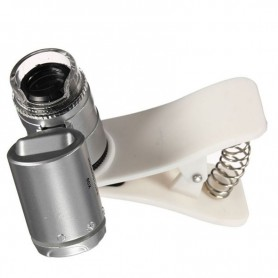 NedRo, 8MM 60X Zoom Microscope Magnifier with LED UV, Magnifiers microscopes, AL465-CB, EtronixCenter.com