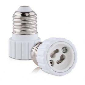 Oem - E27 to GU10 converter adapter - 1 piece - Light Fittings - LCA21-CB