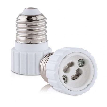 NedRo, E27 to GU10 converter (2 pices), Light Fittings, AL792-CB, EtronixCenter.com