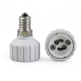 NedRo - E14 to GU10 Socket Converter - Light Fittings - LCA03-CB
