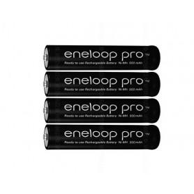 Eneloop, Panasonic eneloop PRO AAA / Micro / HR03 /R3 900mAh 1.2V chargeable battery, Size AAA, NK055-CB