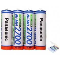 AA 2700mAh Panasonic Rechargeable Battery