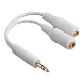 NedRo - iPhone 3.5mm Headphone Splitter Cable YAI328 - Audio adapters - YAI328 www.NedRo.us