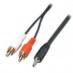 NedRo - 2.5M RCA cable 3.5 mm JACK TO PLUG 49139 - Audio cables - YAK152