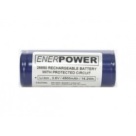 Enerpower - Enerpower 26650 4700mAh 14.1A Protected - Other formats - NK142-CB