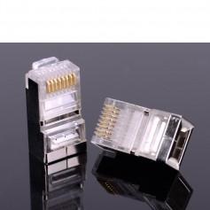 Vention - 10x Vention CAT6 RJ45 Plug 8P8C Modular Network Plug AL456 - Network adapters - AL456