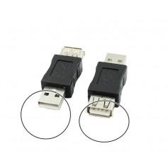 USB 2.0 A Female - Male Adapter