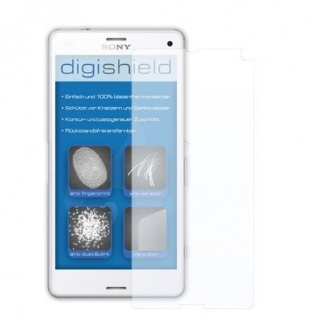 digishield - Tempered Glass for Sony Xperia Z3 Compact - Sony tempered glass - ON1566