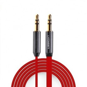 UGREEN - 3.5mm Male-Male Audio Jack Ultra Flat cable - Audio cables - UG254-CB