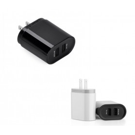 UGREEN - 2.4A / 1A 17W 5V USB Dual Wall Charger JP Plug Black UG155 - Plugs and Adapters - UG155 www.NedRo.us