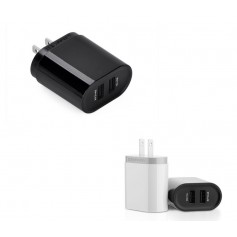 UGREEN, 2.4A / 1A 17W 5V USB Dual Wall Charger JP Plug Black UG155, Plugs and Adapters, UG155