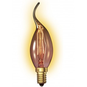 Calex, Edison Vintage 25W E14 Decoration Light Bulb 110 LUM CA011, Vintage Antique, CA011, EtronixCenter.com