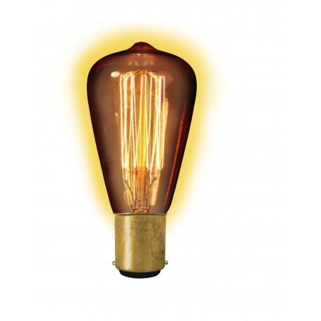 Calex - Edison Vintage 40W BA15D Decoration Light Bulb 130 LUM CA013 - Vintage Antique - CA013