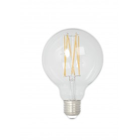 Calex, Vintage LED Lamp 240V 4W 350lm E27 GLB80 Clear 2300K Dimmable, Vintage Antique, CA074-CB, EtronixCenter.com