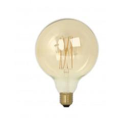 Calex - Vintage LED Lamp 240V 4W 320lm E27 GLB125 GOLD 2100K Dimmable - Vintage Antique - CA076-CB