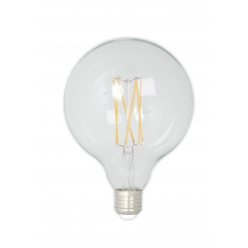 Calex, Vintage LED Lamp 240V 4W 350lm E27 GLB125 Clear 2300K Dimmable, Vintage Antique, CA077-CB, EtronixCenter.com