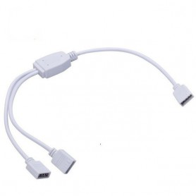 Oem - 1 to 2 RGB Splitter Connector 1x Female to 2x Female Cable AL355 - LED connectors - AL355