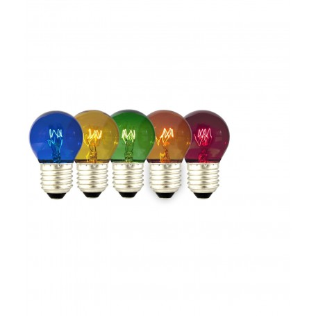 Calex - 5in1 5 colours Party Ball Lamp tray 15W 240V E27 CA057 - E27 LED - CA057