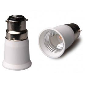 NedRo - B22 to E27 Base Converter - Light Fittings - LCA119-CB www.NedRo.us