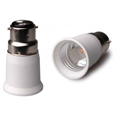 NedRo, B22 to E27 Base Converter - 2 pieces, Light Fittings, LCA119-CB, EtronixCenter.com