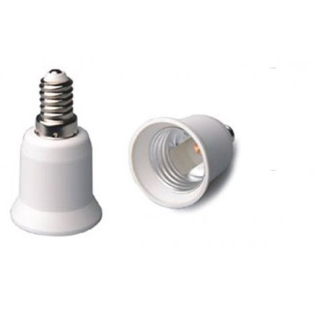 NedRo, E14 to E27 Socket Converter 06088, Light Fittings, LCA01-CB, EtronixCenter.com