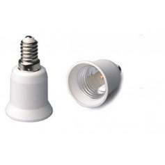 Oem - E14 to E27 fitting converter base - 1 piece - Light Fittings - LCA01-CB