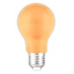 Calex - E27 1W Orange LED GLS-lamp A60 240V 12lm - E27 LED - CA033-CB