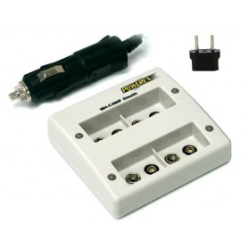 POWEREX - Quatro Maha Powerex MH-C490F for 9V (EU Plug) Batteries - Battery chargers - MH-C490F www.NedRo.us