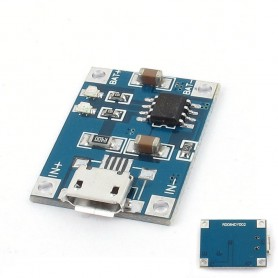 NedRo - 5V Micro USB 1A 18650 Battery Charging Board Module - Battery accessories - AL887-CB