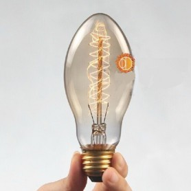 NedRo, Edison Line Vintage 40W E27 Decoration Light Bulb AL026, Vintage Antique, AL026, EtronixCenter.com