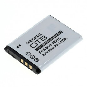OTB - Battery for Samsung SLB-0837B Li-Ion 650mAh - Samsung photo-video batteries - ON1446 www.NedRo.us