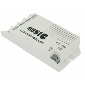 NedRo, 60W Music Controller voor RGB (12V / 24V), LED Accessories, LED06043