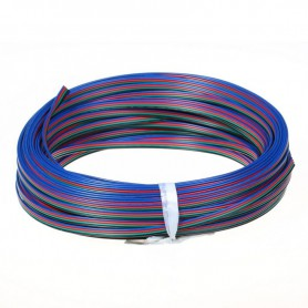 NedRo, 4 Pin RGB wire for RGB LED strips, LED connectors, LSCC46-CB