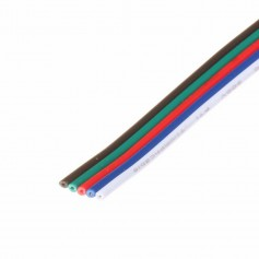 Oem - 5-Pin RGBW LED extension wire for RGBW LED strips - LED connectors - LSCC50-CB