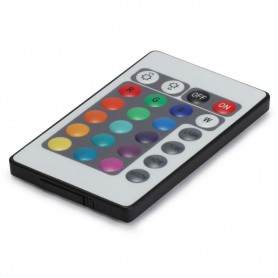 NedRo, RGB LED IR Remote Controller 24 buttons + cabinet Male, LED Accessories, LCR18-M