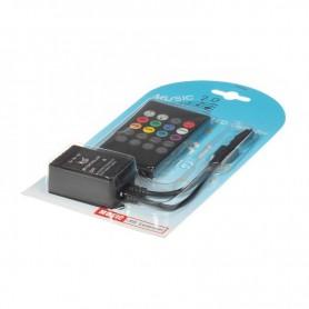 NedRo, 20 Key IR Remote RGB Music LED Controller, LED Accessories, LCR09, EtronixCenter.com