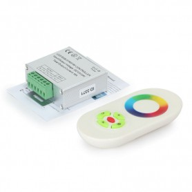 NedRo, RF Touch Controller and Remote White for RGB LEDstrip, LED Accessories, LCR34
