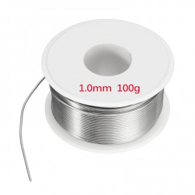 Unbranded - 100g Solder welding Tin Lead Line wire 1mm - Solder accessories - AL023 www.NedRo.us