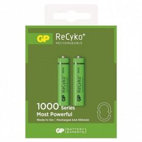 GP, GP R03/AAA GP ReCyko+ 1000 Series 950mAh Rechargeable, Size AAA, BS105-CB, EtronixCenter.com